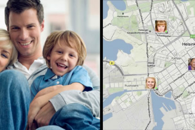 Mobile Phone Tracking for Family Safety in Large Scale Public Events – Staying Safe and Enjoying the Event